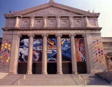 Exterior of Museum of Science and Industry